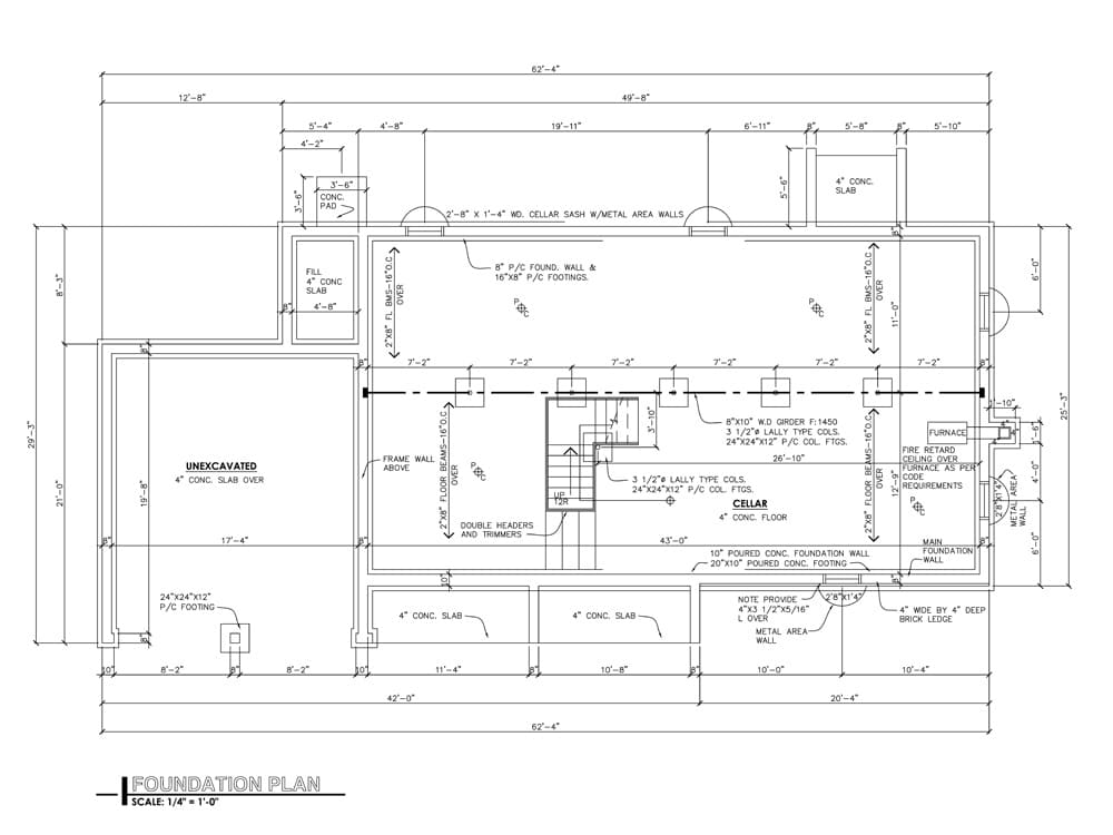 01 Foundation Plan