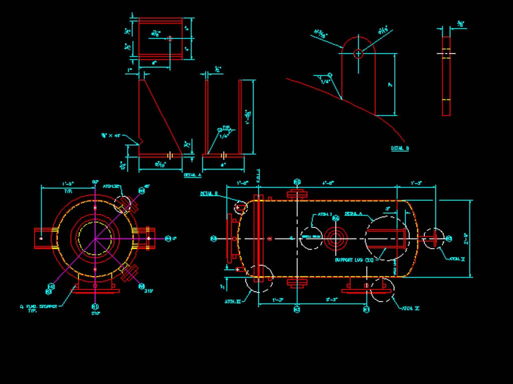 2d Mechanical Hvac Drafting Services In India Microdra Design Drawings Pictures